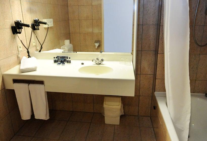 浴室 ホテル City Inn Luxe アントウェルペン中央駅