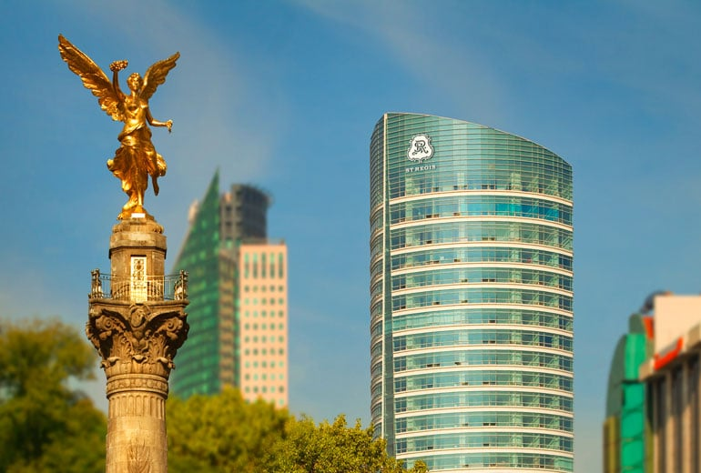 Aussenbereich Hotel The St. Regis Mexico City  Mexiko-Stadt