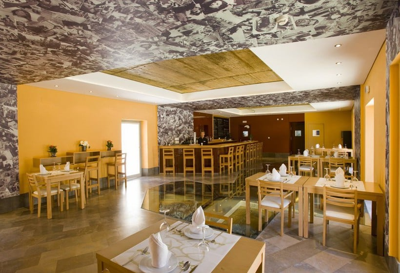 カフェ ホテル Palacio de Arizon サンルーカル・デ・バラメダ