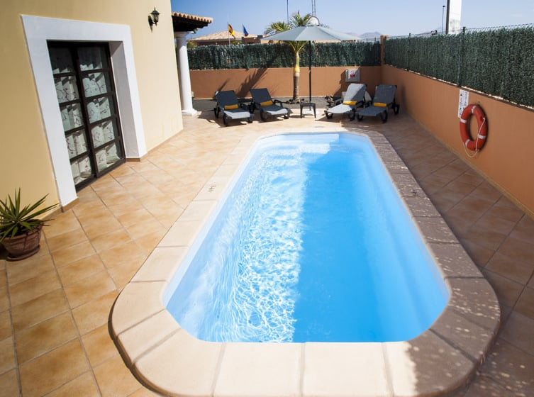 Swimming pool Hotel Mirador de Lobos Golf Corralejo