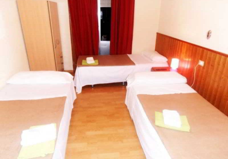 Quarto Hostal Numancia Madrid