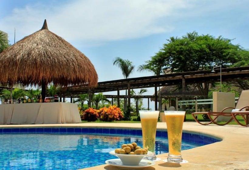 Schwimmbad Hotel Occidental Cartagena