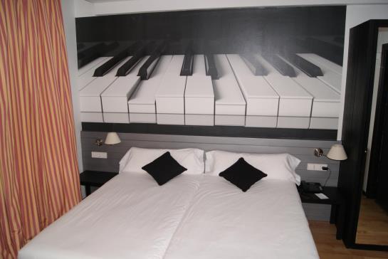 Habitación Hotel Abba Jazz Vitoria