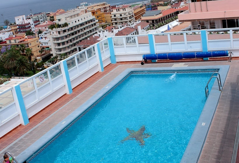 Swimming pool Hotel Trianflor Puerto de la Cruz