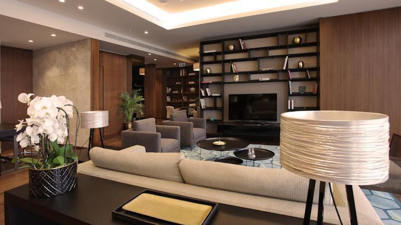 Gemeinschaftsbereiche Istanbul Marriott Hotel Sisli