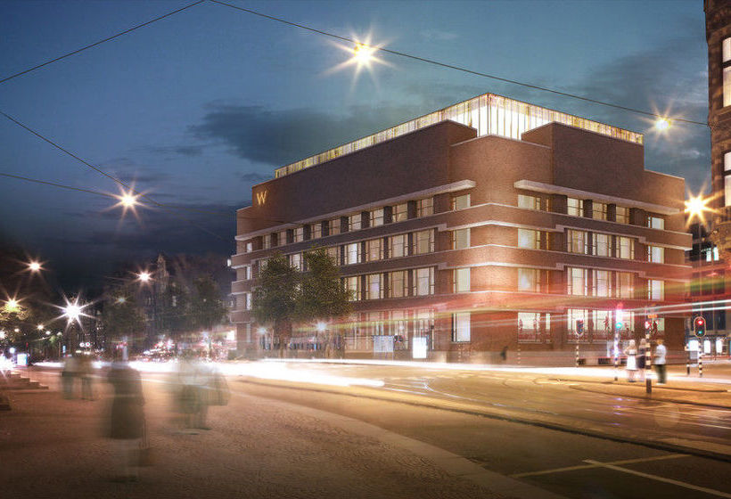 hotel w amsterdam em amesterd o desde 101 destinia. Black Bedroom Furniture Sets. Home Design Ideas