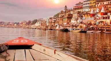 India, Triángulo de Oro y Varanasi (tren interno)