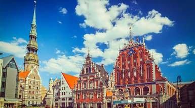 Estonia, Letonia, Lituania y San Petersburgo al Completo