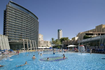 Swimming pool Gran Hotel Bali Benidorm