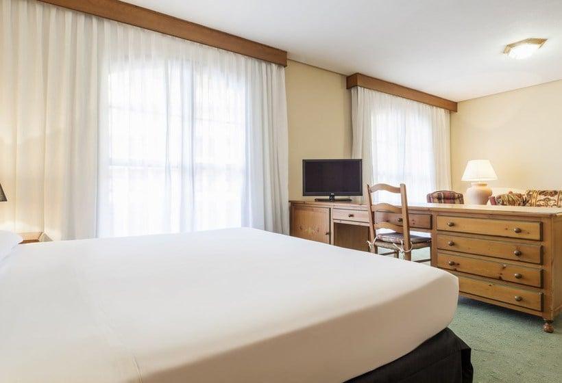 Zimmer Hotel Ilunion Golf Badajoz