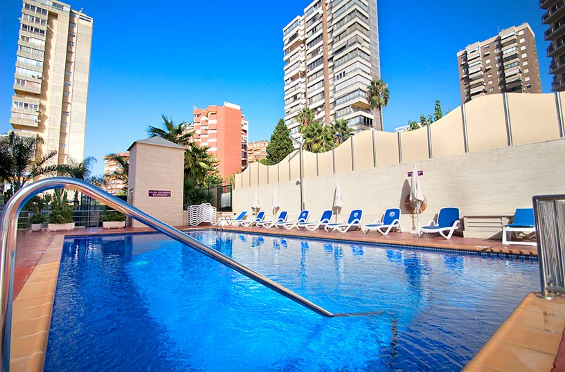 Piscina Hotel Servigroup Diplomatic Benidorm