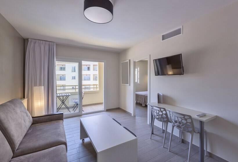 Habitación Aparthotel Orquidea Santa Eulalia del Río