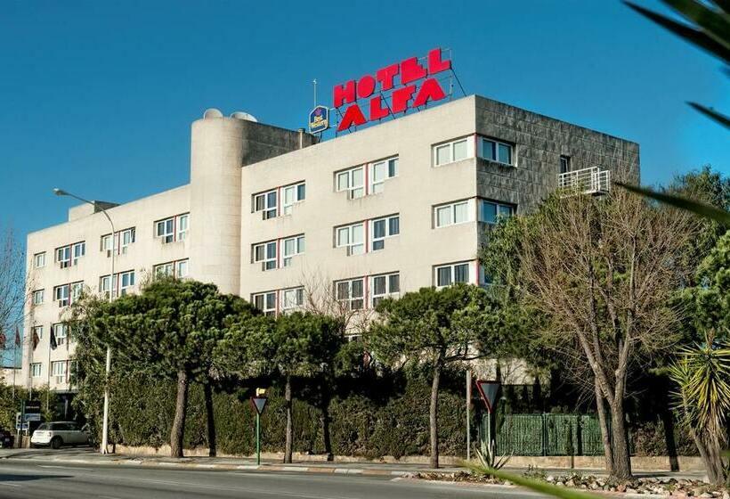 Exterior Hotel Best Western Alfa Aeropuerto Barcelona