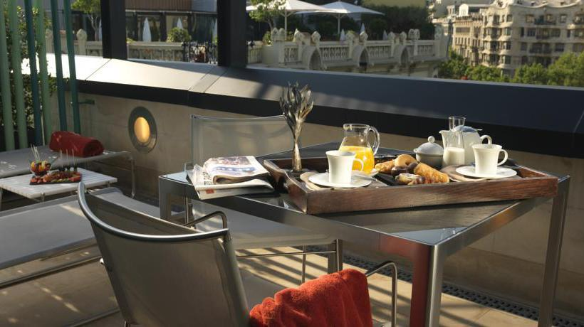 Terrasse Hotel Condes de Barcelona