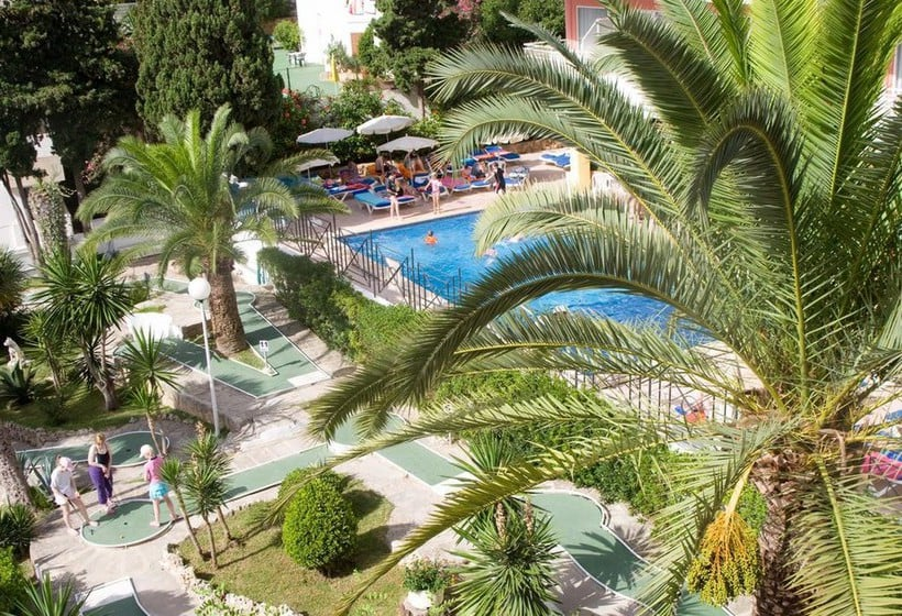 Zonas comuns Hotel Tropico Playa Palma Nova