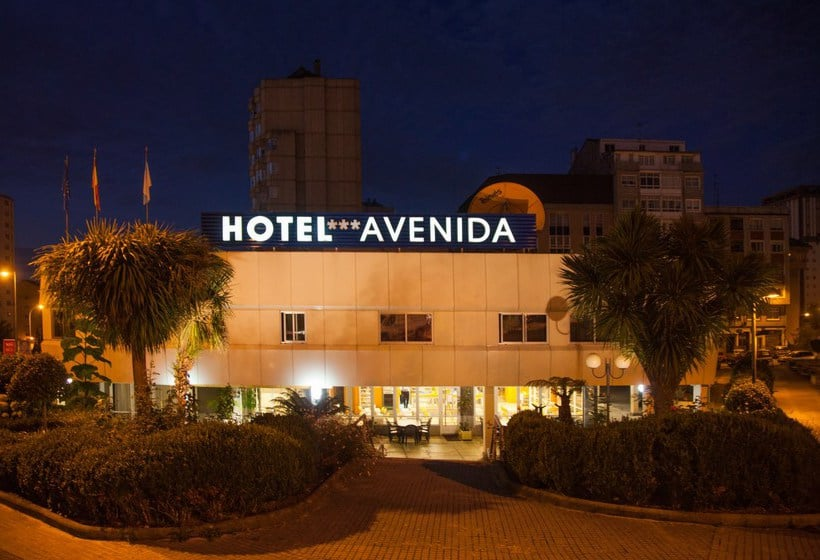 Outside Hotel Avenida A Corunya