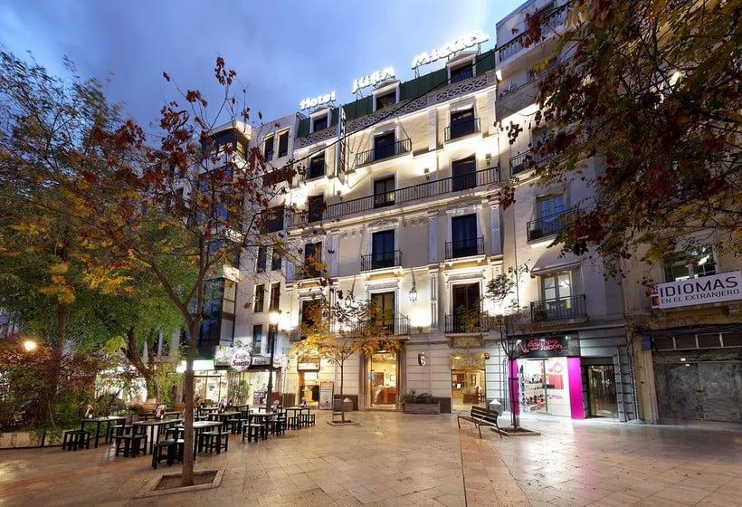 Extérieur Hôtel Juan Miguel Grenade