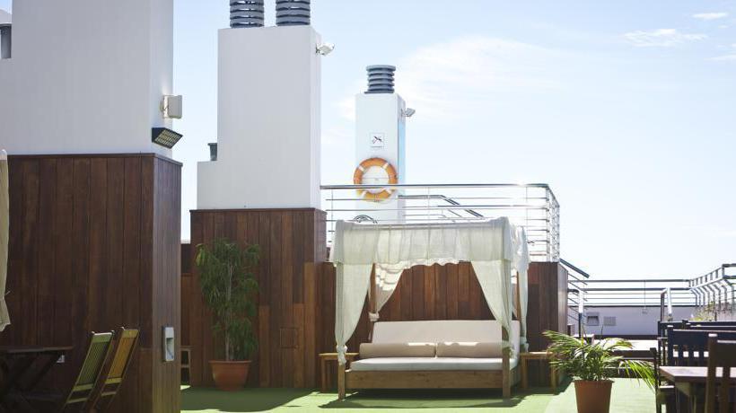 Terrace Cantur City Hotel Las Palmas de Gran Canaria