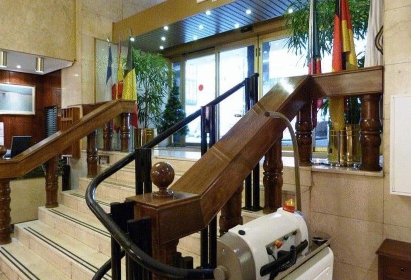 Espaces communs Hôtel Gran Atlanta Madrid