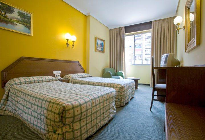 Chambre Hôtel Gran Atlanta Madrid