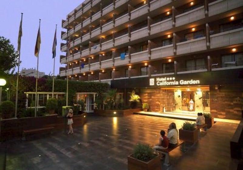 Outside Hotel California Garden Salou