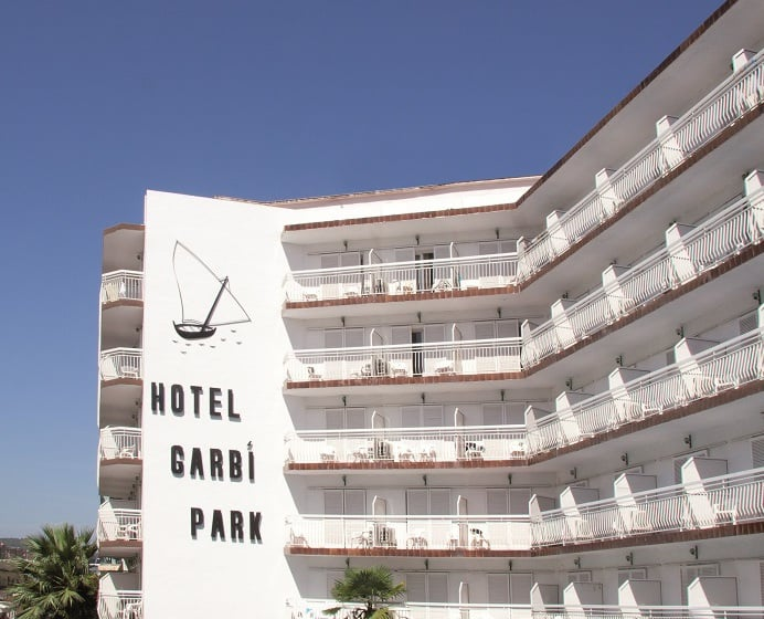 Outside Hotel Garbi Park Lloret de Mar