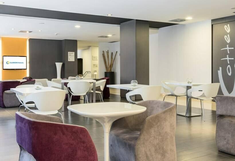 Gemeinschaftsbereiche Hotel Ilunion Romareda Saragossa