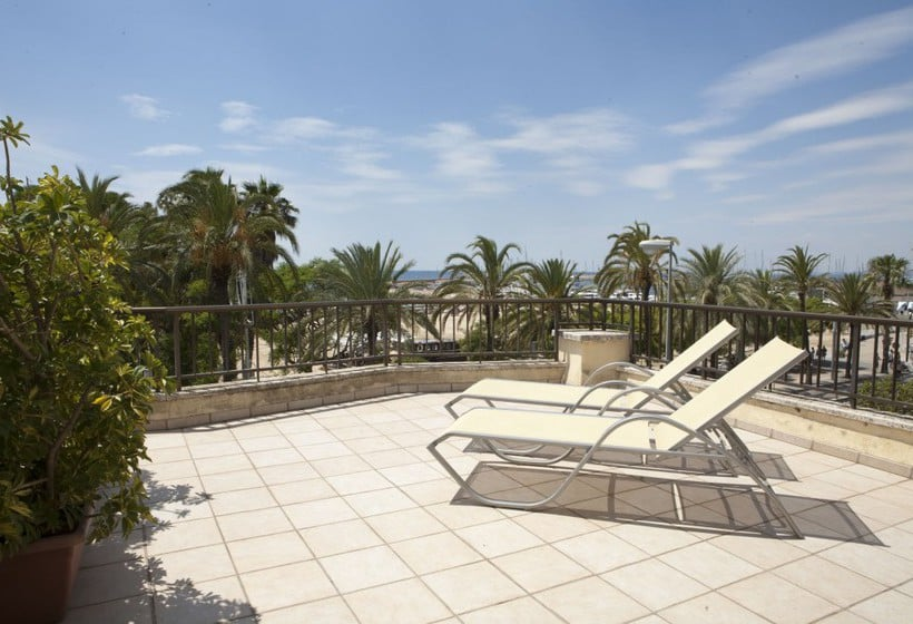 Terrace Hotel Rovira Cambrils
