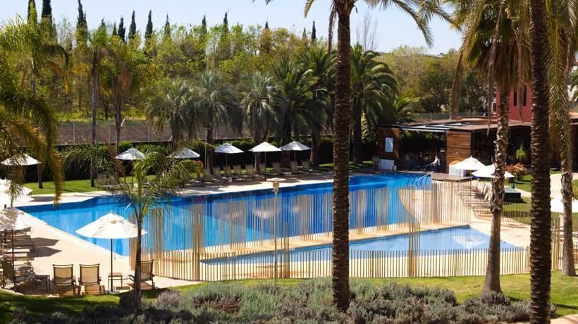 Schwimmbad Hotel Silken Al-Andalus Palace Sevilla