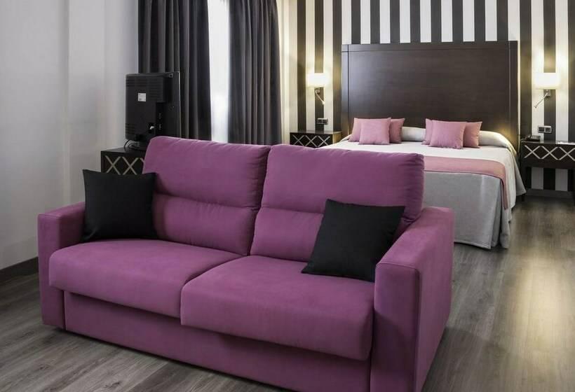 Room Hotel Zentral Parque Valladolid