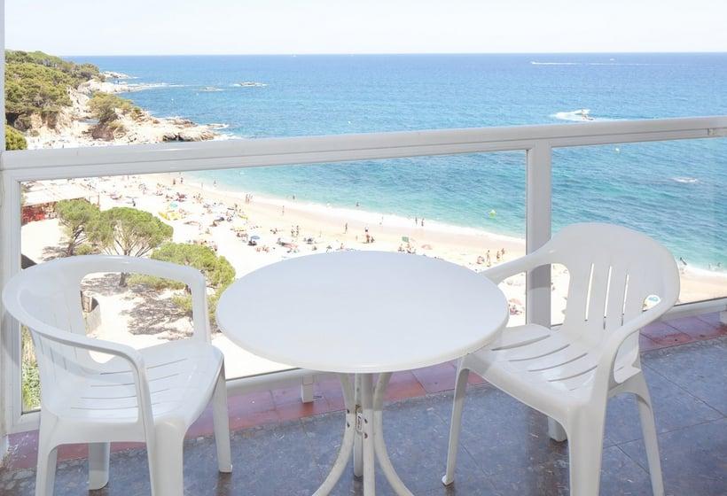 Terraza Hotel H Top Caleta Palace Playa de Aro