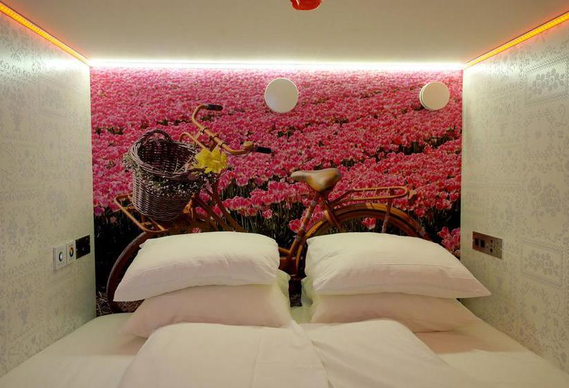 De Bedstee Boutique Capsule Hotel Adults Only Amsterdam Die