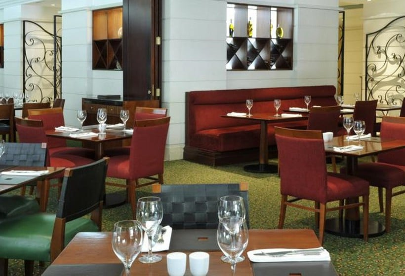 Cafeteria Hotel Lisbon Marriott Lissabon