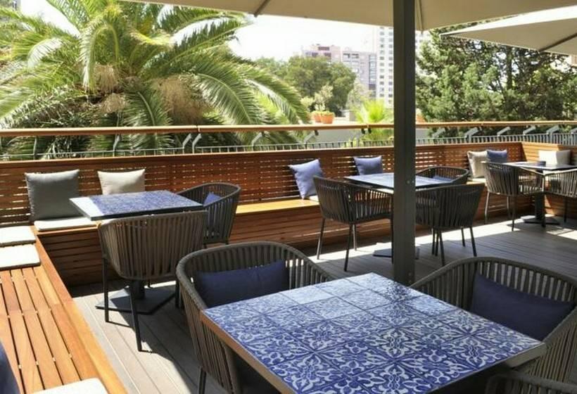 Terrasse Hotel Lisbon Marriott Lissabon