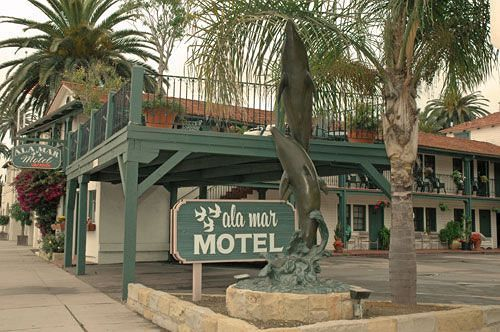 Motel Ala Mar by the Sea Santa Barbara