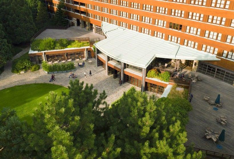 H tel disney 39 s sequoia lodge disneyland paris partir for Piscine sequoia lodge