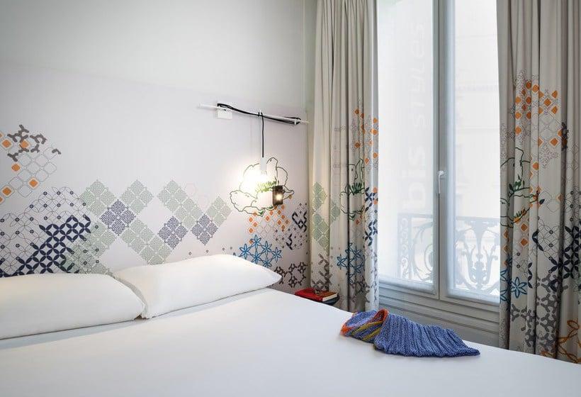 Zimmer Hotel Ibis Styles Paris Gare Saint Lazare