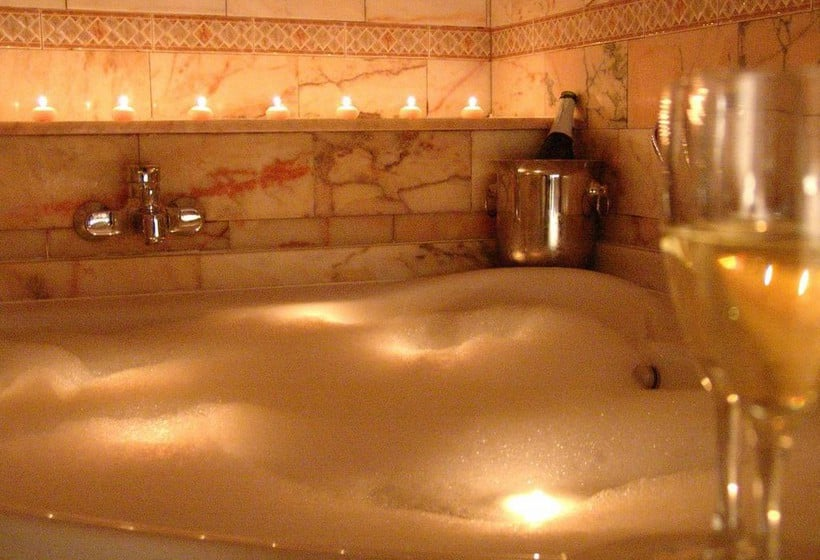 Salle de bain Aparthotel Casa Vella Ordino