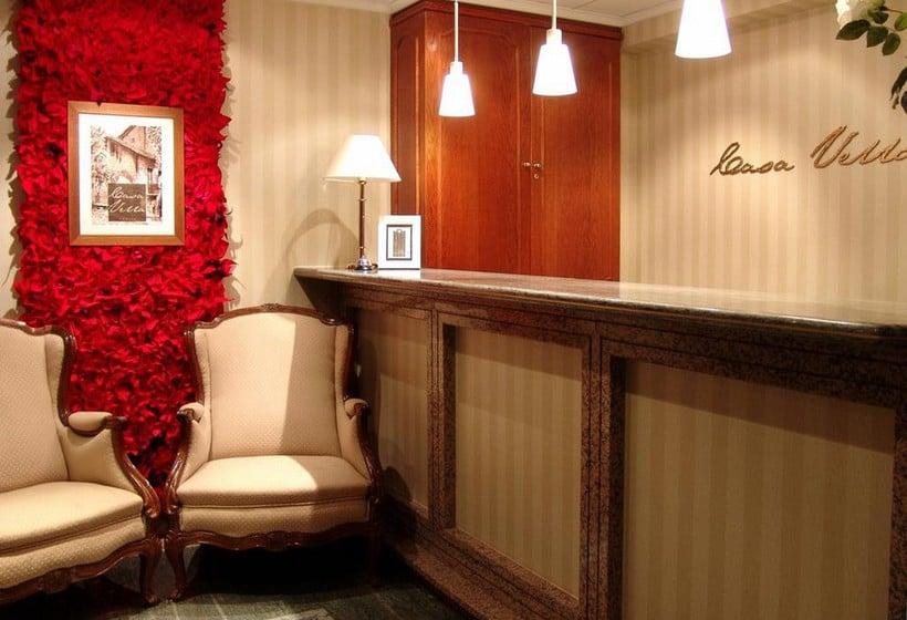 Réception Aparthotel Casa Vella Ordino
