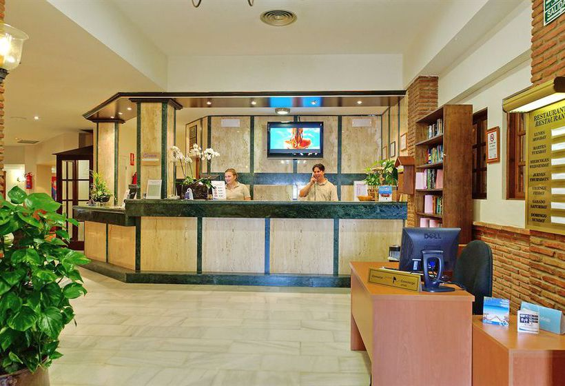 Rezeption Apartamentos Muthu Grangefield Oasis Club Mijas Costa