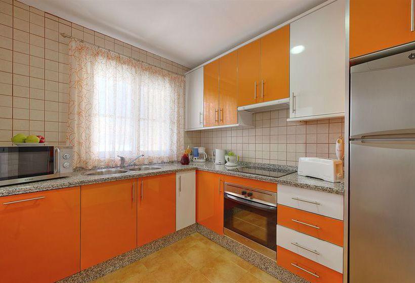 Küche Apartamentos Muthu Grangefield Oasis Club Mijas Costa