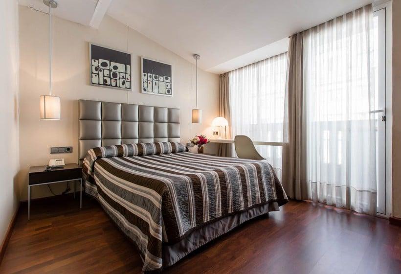 Kamer Hotel Aquaria Negresco Madrid