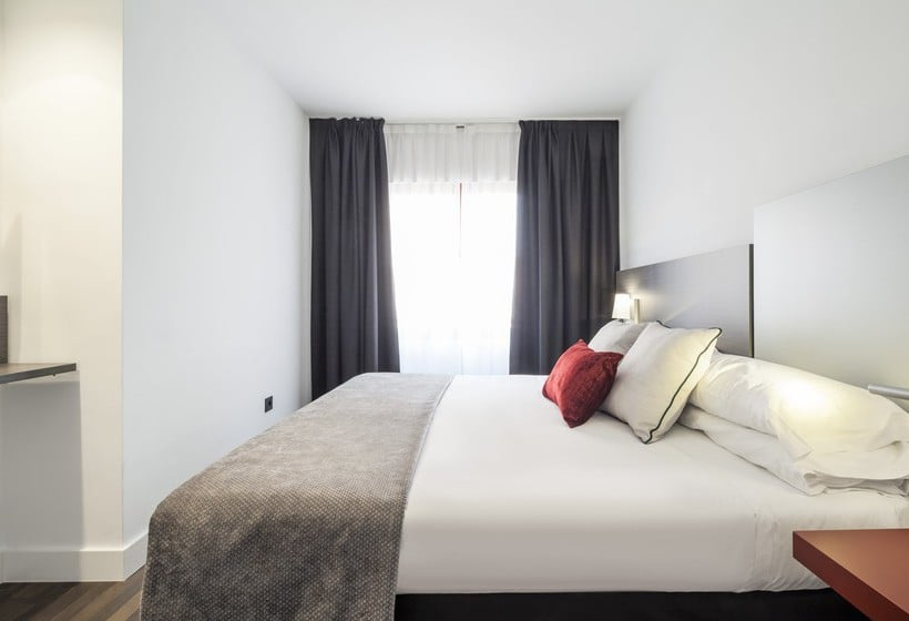 Chambre Hôtel Ilunion Suites Madrid