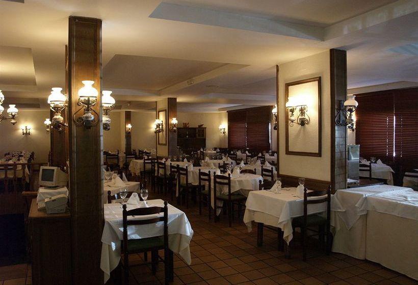 레스토랑 호텔 Nievesol Formigal