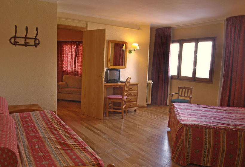 Habitación Hotel Nievesol Formigal