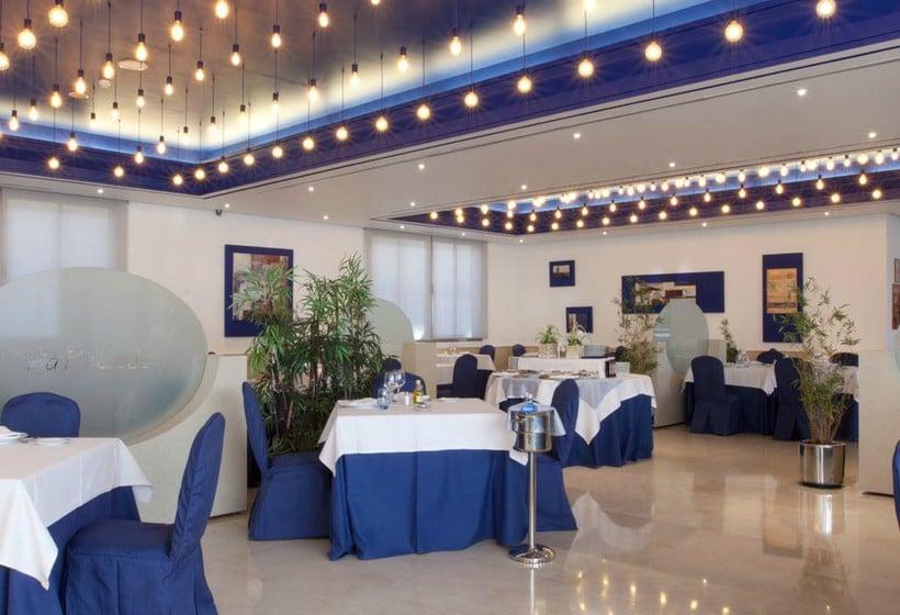 مطعم فندق Villamadrid مدريد