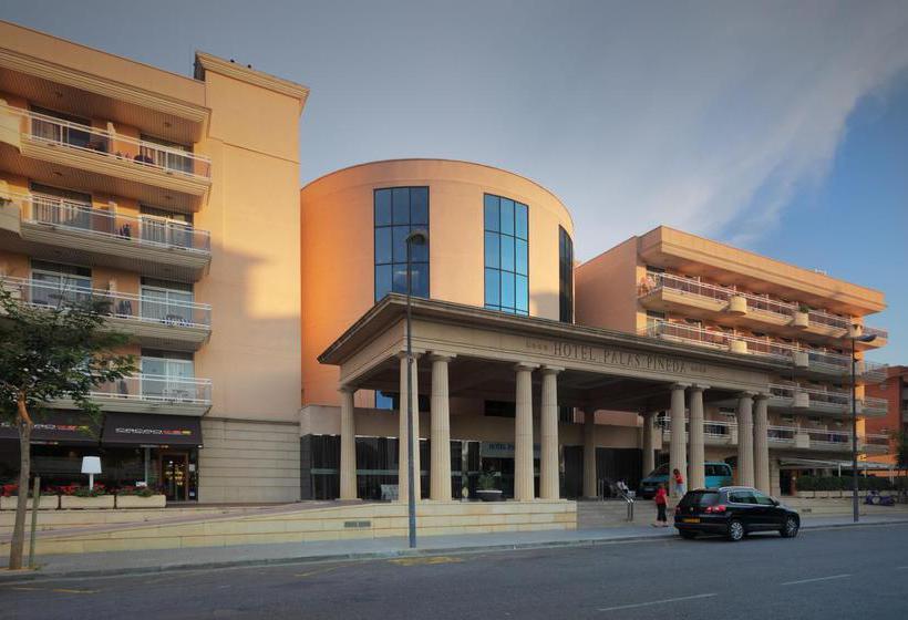 Aussenbereich Palas Pineda Hotel La Pineda