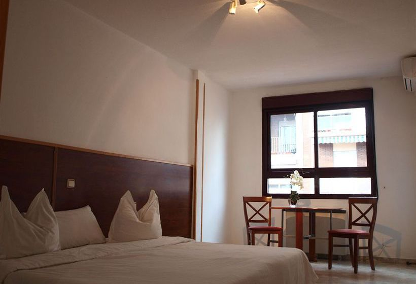 Stylish city aparthotel madrid madrid die besten for Appart hotel madrid