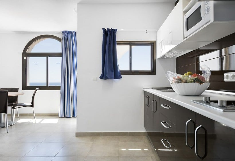 Cuisine Apartamentos Best Pueblo Indalo Mojacar