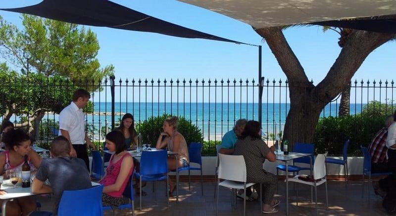 Terrace Complejo Eurhostal Alcoceber
